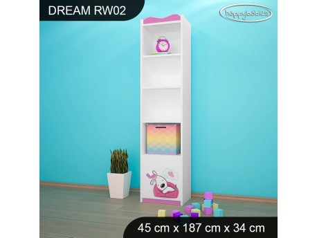 REGAŁ WYSOKI DREAM RW02 DM01