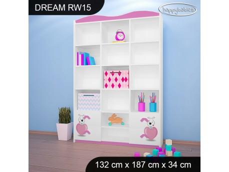 REGAŁ WYSOKI DREAM RW15 DM01