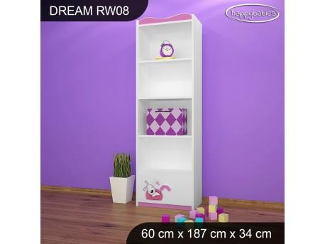 REGAŁ WYSOKI DREAM RW08 DM01