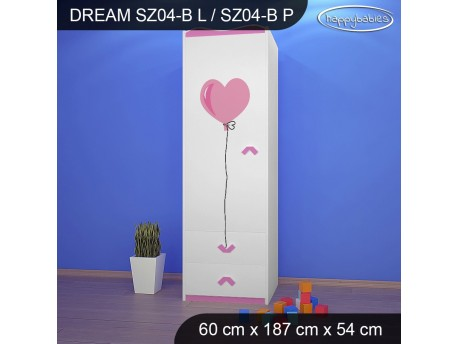 SZAFA DREAM SZ04-B DM01