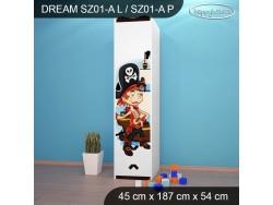 SZAFA DREAM SZ01-A DM11