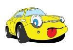 Żółty samochodzik